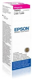 EPSON ink bar T6643 Magenta ink container 70ml pro L100/L200/L550/L1300/L355/365