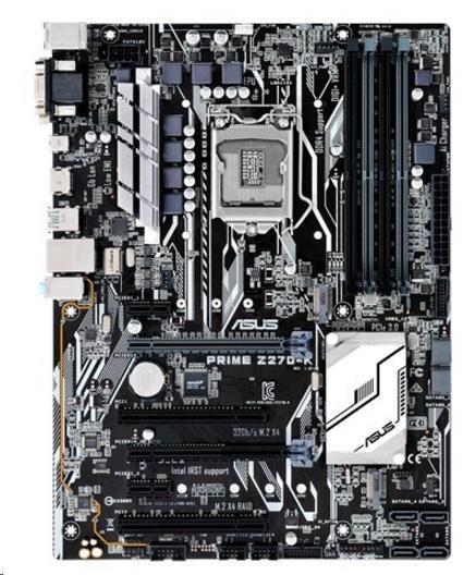 ASUS MB Sc LGA1151 PRIME Z270-K, Intel Z270, 4xDDR4, VGA