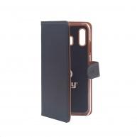 Celly pouzdro Wally s funkcí stojánku pro Samsung Galaxy A30, černá
