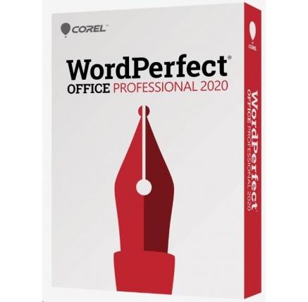 WordPerfect Office 2020 Pro Single User Upgrade License ML EN/FR
