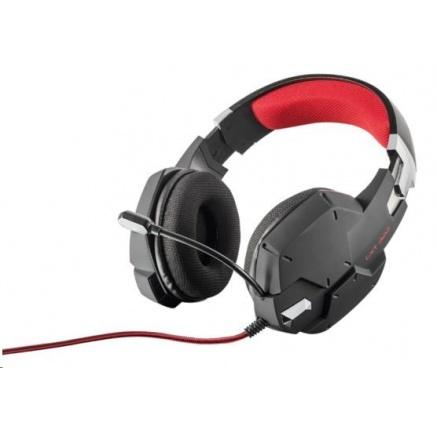 TRUST Sluchátka s mikrofonem GXT 322 Dynamic Headset - černé