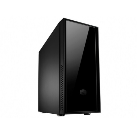 case Cooler Master miditower Centurion Silencio 550, ATX,black, USB3.0, SD čtečka, bez zdroje, odhlučněný