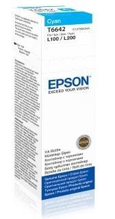 EPSON ink bar T6642 Cyan ink container 70ml pro L100/L200/L550/L1300/L355/365