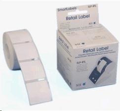 Seiko Retail Label, částečně lepivý, 37x37mm 560ks/role