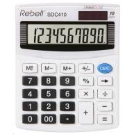 REBELL  kalkulačka -SDC410 - bílá