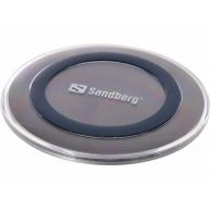 Sandberg podložka s bezdrátovým nabíjením Qi, micro USB, 5 W
