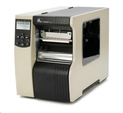 ZebraTT průmyslová tiskárna 110XI4, 300DPI, RS232, PARALLEL, USB, INT 10/100, REWIND WITH PEEL