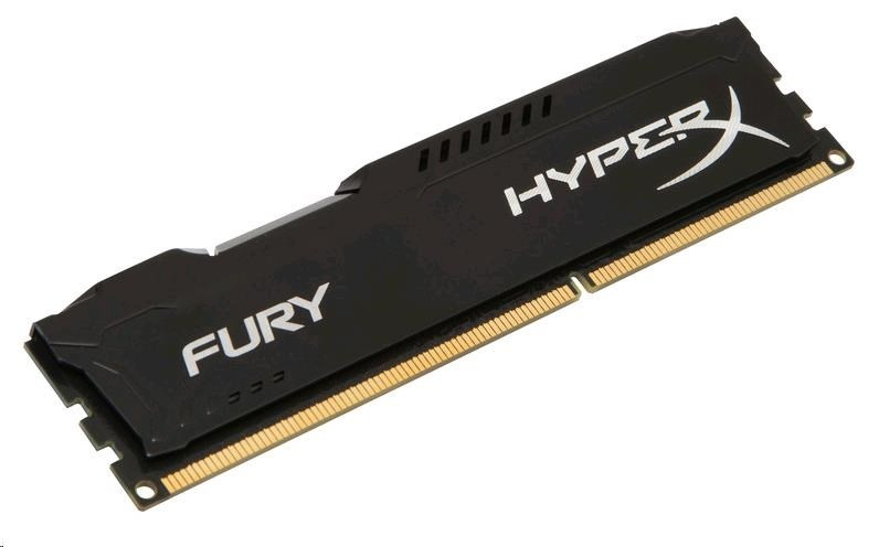 DIMM DDR3 8GB 1600MHz CL10 KINGSTON HyperX FURY Black