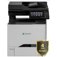 LEXMARK Multifunkční barevná tiskárna CX727de, A4, 47ppm, 2048MB, dotykov LCD, duplex, RADF, USB 2.0, LAN, 4letá záruka