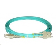 Duplexní patch kabel MM 50/125, OM3, SC-SC, LS0H, 7m