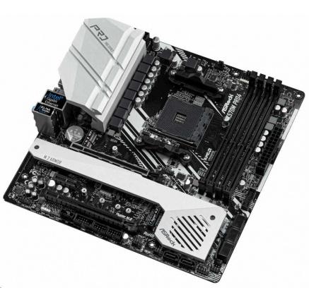 ASRock MB Sc AM4 X570M PRO4, AMD X570, 4xDDR4, VGA, mATX