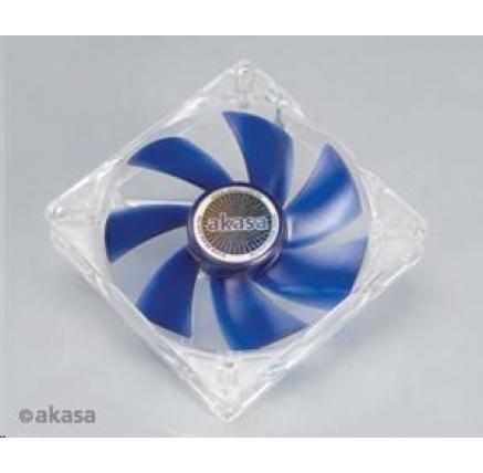 AKASA ventilátor Smart & Cool, 120 x 25mm, kluzné ložisko, tichý