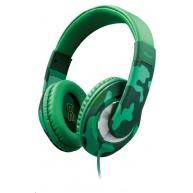 TRUST sluchátka Sonin Kids Headphones - jungle camo