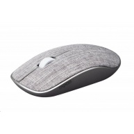 RAPOO myš 3510 plus, optická, bezdrátová, 2.4G, šedá