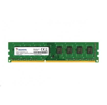 DIMM DDR3 8GB 1600MHz CL11 ADATA Premier memory, 512x8, Retail