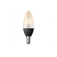 PHILIPS Hue White 4.5W 550 Filament svíčka E14