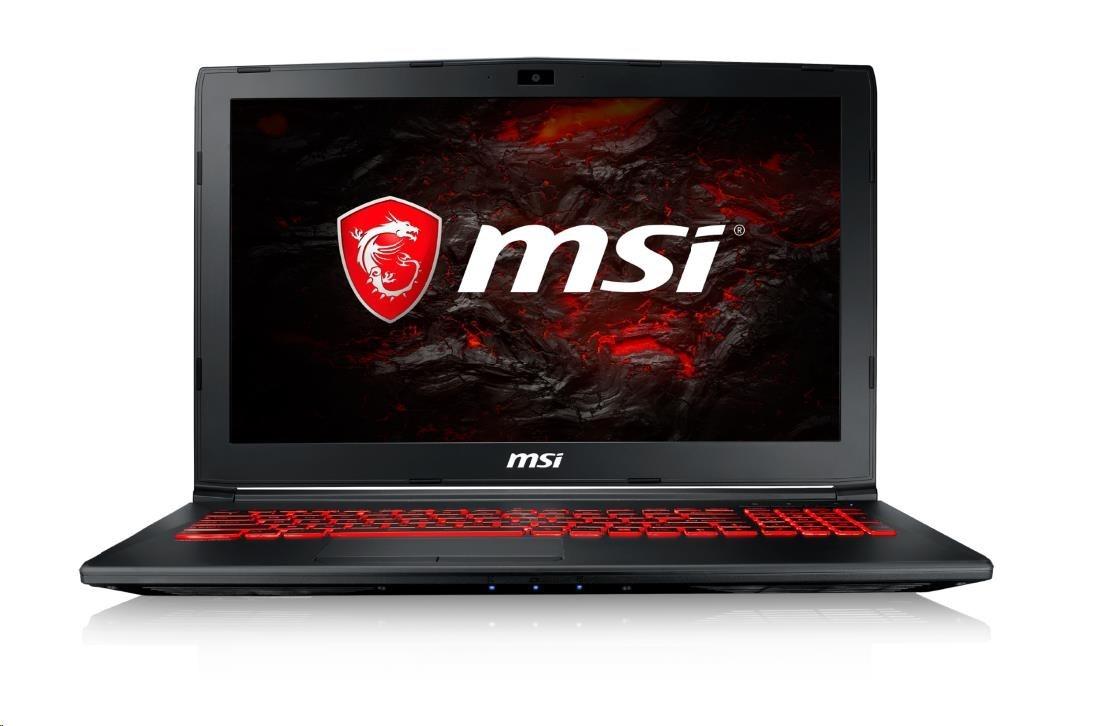 """MSI NB GL62M 7REX-2817CZ, 15.6"""", Intel Core i5, GTX 1050 TI 4GB/2GB, M.2 SSD Combo, 2.5"""" SATA HDD, Win10"""