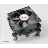 AKASA chladič CPU AK-CCE-7102EP pro Intel  LGA 775 a 1156, 80mm PWM ventilátor, do 73W