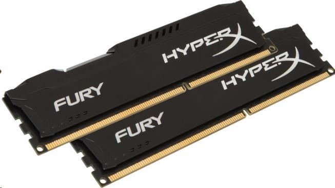 DIMM DDR4 16GB 2400MHz CL15 (Kit of 2) KINGSTON HyperX FURY Black