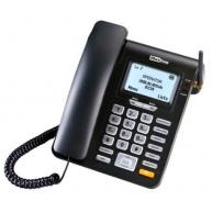 MaxCom MM28DHS, stolní GSM telefon, černá