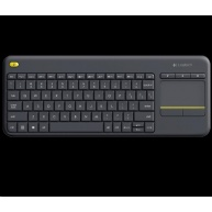 Logitech Wireless Keyboard Touch Plus K400 Plus, black, US