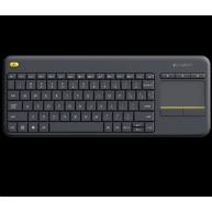 Logitech Wireless Keyboard Touch Plus K400 Plus, black, US