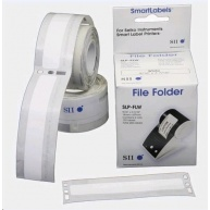 Seiko štítky na pořadače - bílá, 14x87mm, 130ks/role