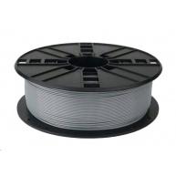 GEMBIRD Tisková struna (filament) PETG, 1,75mm, 1kg, šedá