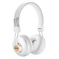 MARLEY Positive Vibration 2.0 Bluetooth - Silver, bezdrátová sluchátka přes hlavu