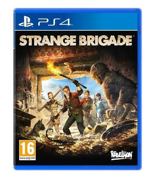 PS4 hra Strange Brigade