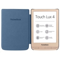 POCKETBOOK 627 Touch Lux 4, Limited Edition Gold+blue Cover