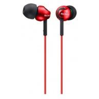 SONY stereo sluchátka MDR-EX110LP, červená