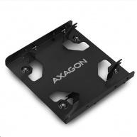 """AXAGON RHD-225L, hliníkový rámeček pro 2x 2.5"""" HDD/SSD do 3.5"""" pozice"""