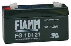 Baterie - Fiamm FG10121 (6V/1,2Ah - Faston 187)
