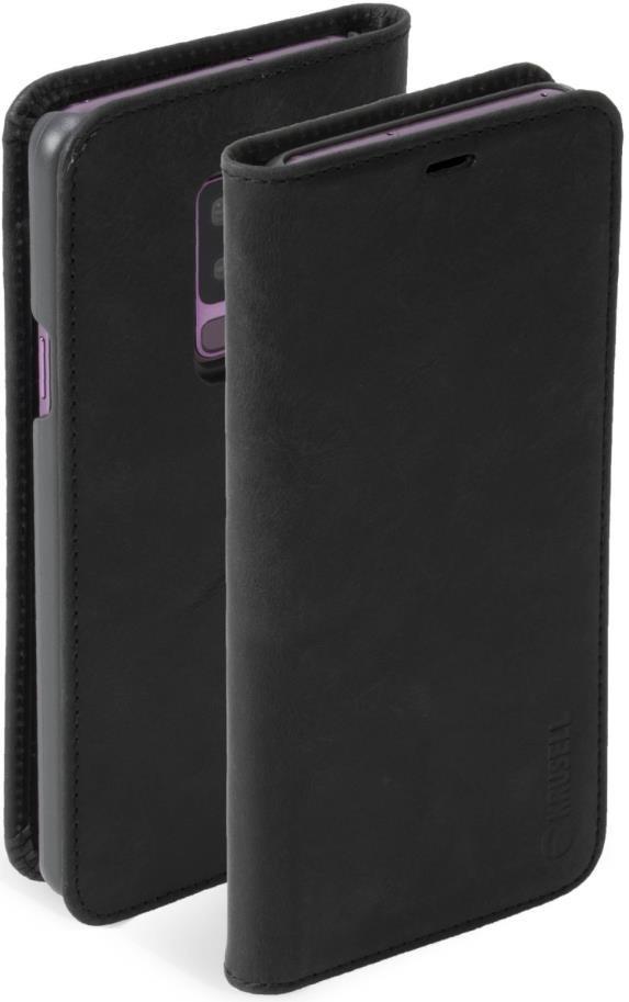 Krusell flipové pouzdro SUNNE 2 CARD FolioWallet pro Samsung Galaxy S9+, černá