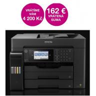 EPSON tiskárna ink EcoTank L15160, A3+, 32ppm, 1200x4800 dpi, USB, Wi-Fi,  3 roky záruka po registraci