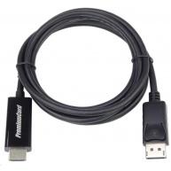 PREMIUMCORD Kabel DisplayPort - HDMI 2m