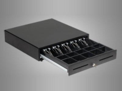 Quorion pokladní zásuvka EC4141 černá 9V bez děr RJ11