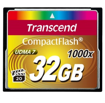 TRANSCEND Compact Flash 32GB Ultimate (1000x)