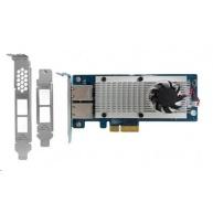 QNAP LAN-10G2T-X550 Síťová rozšiřující karta sítě 10 GbE se dvěma porty 10GBASE-T