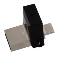 Kingston 32GB DataTraveler microDuo (USB 3.0) - šedý