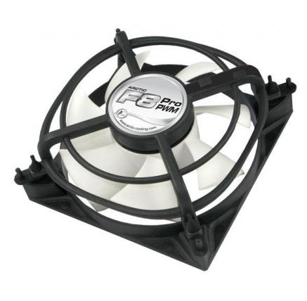 ARCTIC fan F8 PRO PWM (80x80x34) ventilátor (řízení otáček, fluidní ložisko)