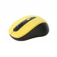 OMEGA myš OM-416, bezdrátová 2,4GHz, 1600 dpi, nano USB přijímač, žlutá