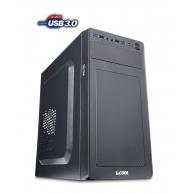 1stCOOL skříň STEP 3 ver.2, micro ATX, AU, USB 3.0, bez zdroje, Black