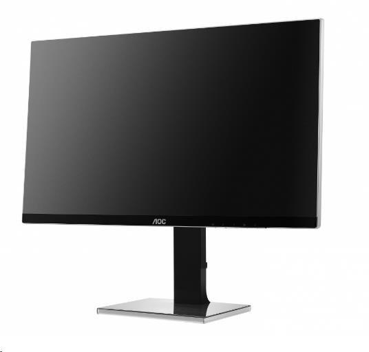"AOC MT IPS LCD WLED 27"" U2777PQU - IPS panel, 3840x2160, 80M:1, 350cd, D-Sub, DVI, HDMI / MHL, 4xUSB, DP, repro, pivot"