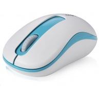 RAPOO myš M10 USB, optická, bezdrátová, 2.4G, modrá