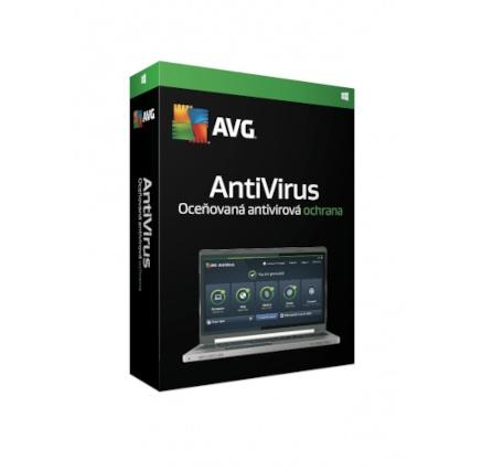 Nová Licence AVG Anti-Virus ZAKL. EDICE 1 lic. (24 měs.) SN DVD BOX