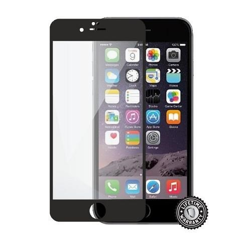 ScreenShield ochrana displeje Tempered Glass pro Apple iPhone 6 Plus / 6S Plus, černá