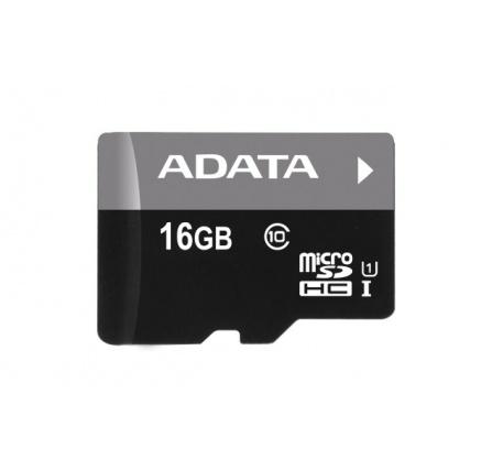ADATA Micro SDHC karta 16GB UHS-I Class 10 + SD adaptér, Premier