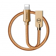 Mcdodo Knight Series USB AM To Lightning Data Cable (1.2 m) Gold